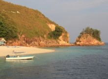 Pulau Rawa - view from the jetty