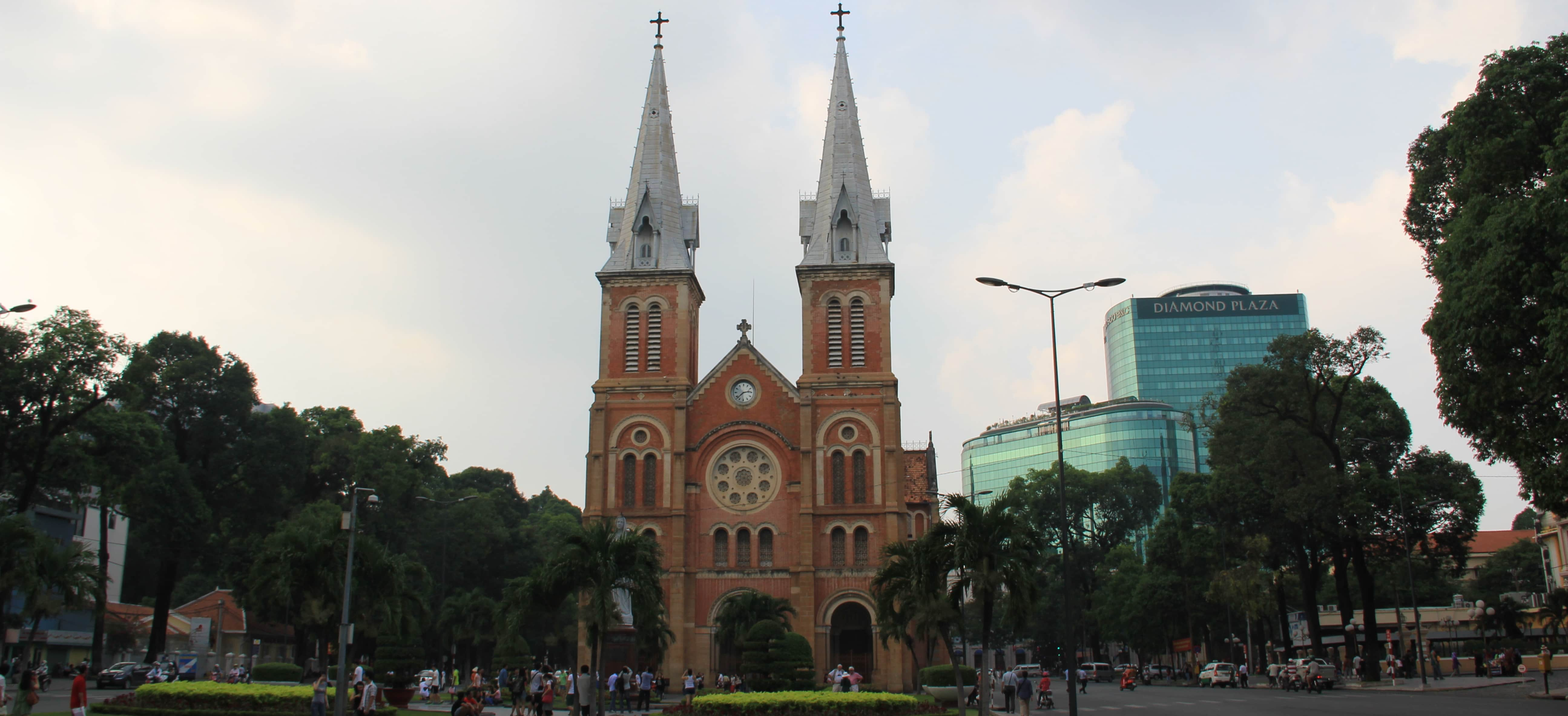 Ho Chi Minh City - Notre Dame Cathedrale