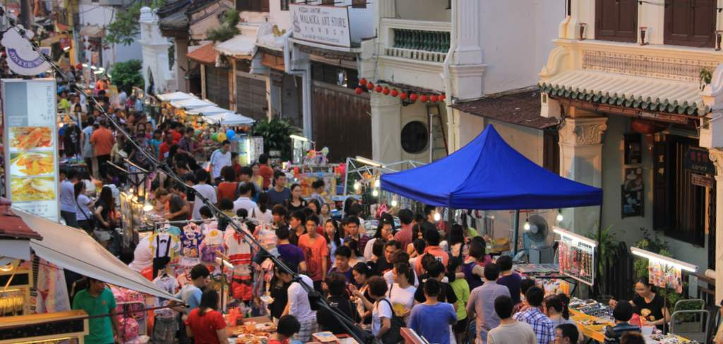 Malacca - night market