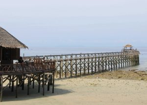 Tioman - resort jetty