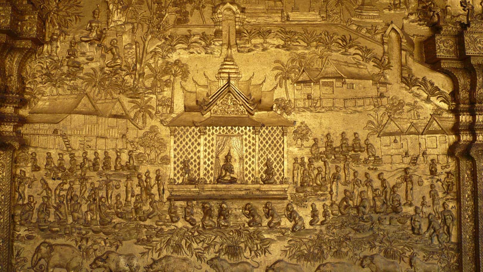 Luang Prabang - golden artpiece