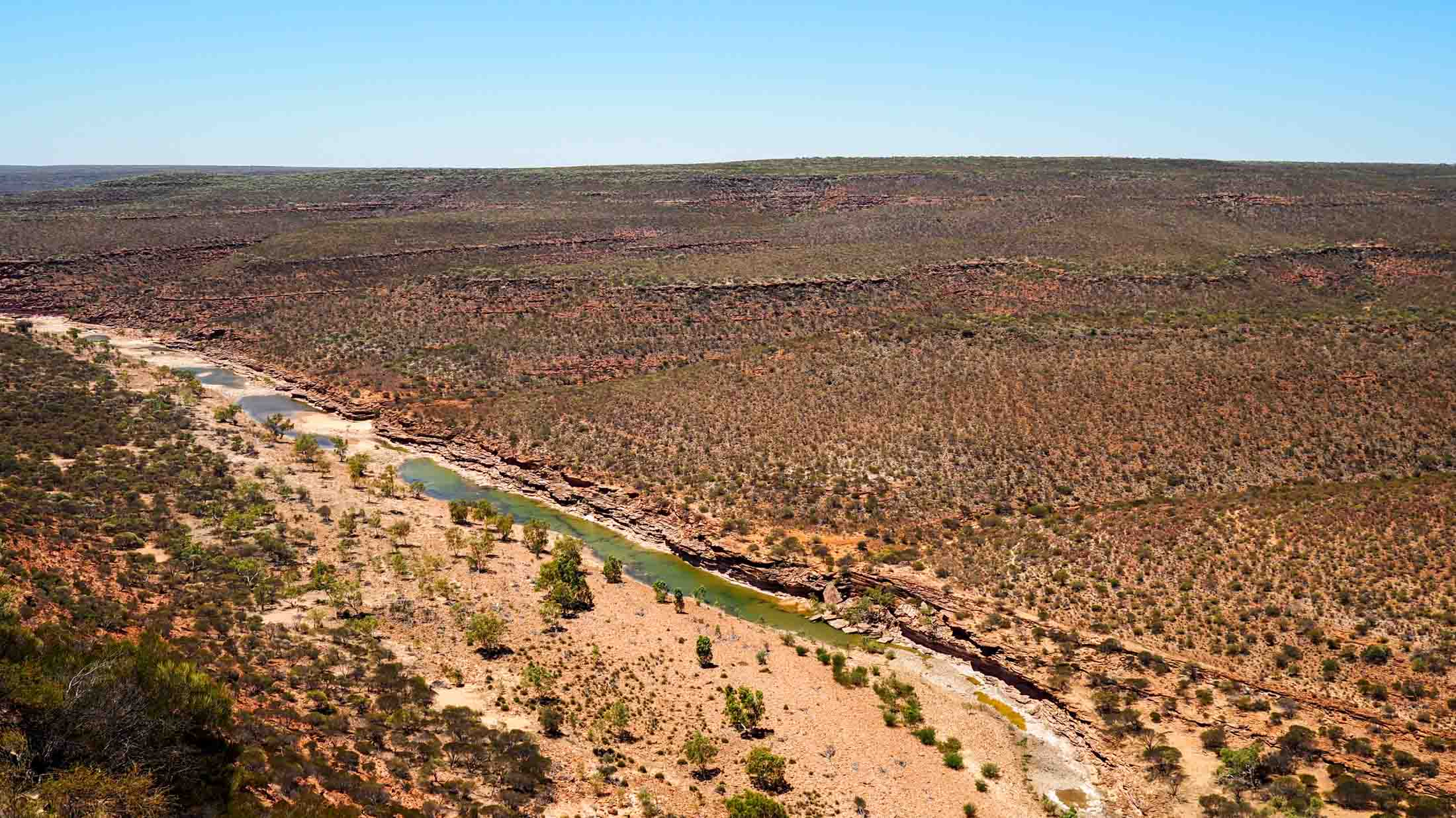 Kalbarri - West Loop lookout